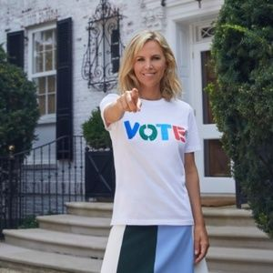 "Famous Tory ""VOTE"" sweater"